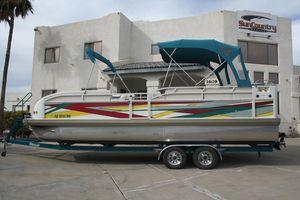 Used Jc 266 I/O266 I/O Pontoon Boat For Sale