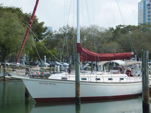 Used Island Packet 35 Sloop Sailboat For Sale