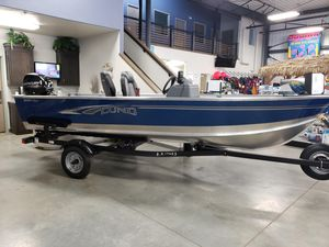New Lund 1600 Fury SS1600 Fury SS Aluminum Fishing Boat For Sale