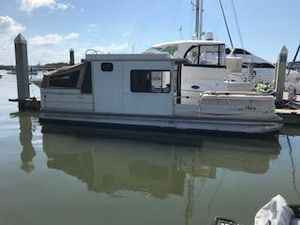 Used Tracker 31 Pontoon Boat For Sale