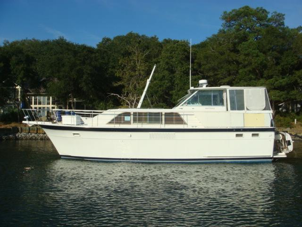 Used Hatteras Double Cabin Motoryacht Aft Cabin Boat For Sale