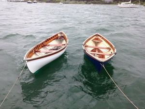 Used Downeast Peapod Daysailer Sailboat For Sale