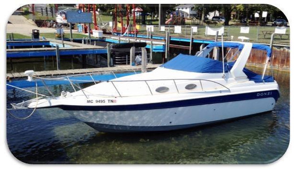 Used Donzi 27 LXC Express Cruiser Boat For Sale