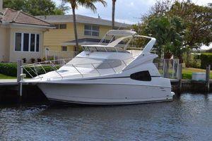 Used Silverton 330 Sport Bridge Express Cruiser Boat For Sale