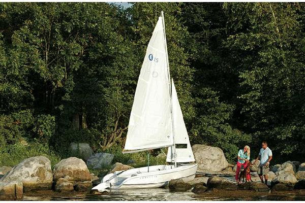 Used Hunter 15 Daysailer Sailboat For Sale