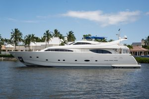 Used Ferretti Yachts Custom Line 94 Motor Yacht For Sale