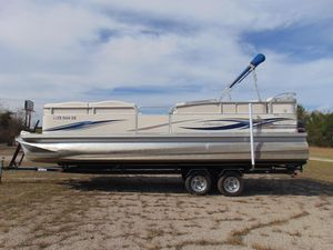 Used Manitou 24 Oasis Pontoon Boat For Sale
