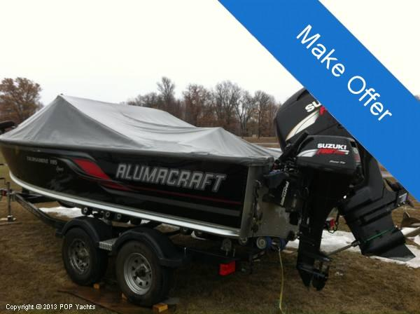 Used Alumacraft 195 Tournament Sport Bass Boat For Sale
