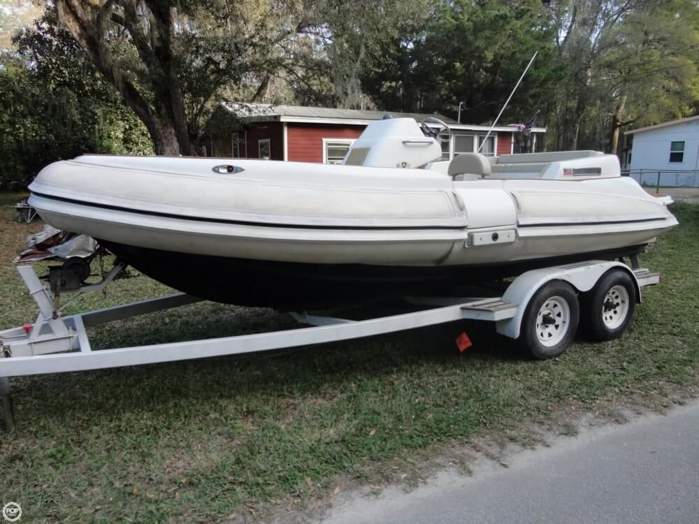 2011 Used Nautica 22 Limited Inflatable Boat For Sale