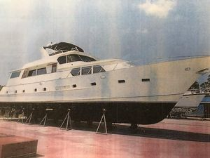 Used Broward 78 Raised Pilothouse Motor Yacht For Sale