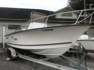Used Palm Beach 205 CC Center Console Fishing Boat For Sale