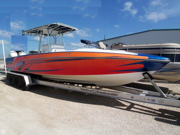 Used Blackhawk 33 Center Console Cuddy Center Console Fishing Boat For Sale