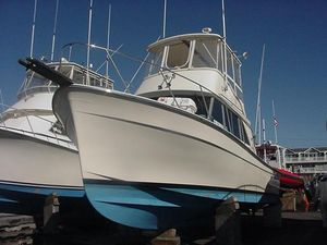 Used Henriques Maine Coaster 35 Flybridge Boat For Sale