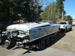 Used Sleekcraft 285 Cuddy Express High Performance Boat For Sale