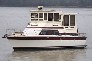 Used Trojan 36 Aft Cabin Cruiser Boat For Sale
