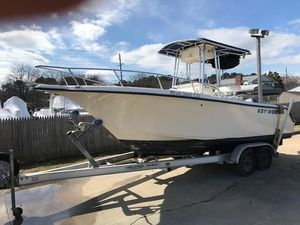 Used Key West 225 Bluewater Center Console Fishing Boat For Sale