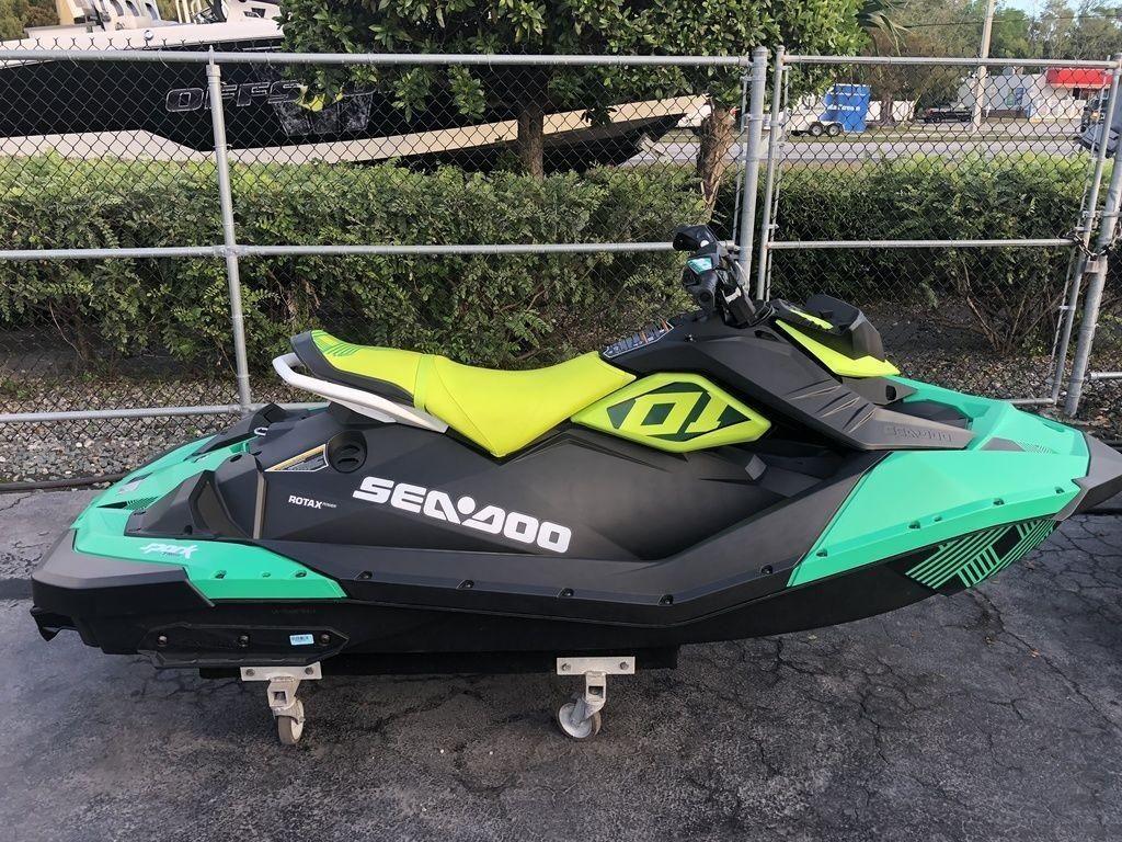 2019 New Sea-Doo Spark Trixx 2-up Rotax 900 H O  ACESpark
