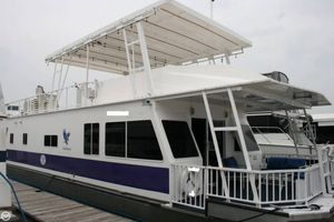 Used Fun Country Eagle 60 x 18 House Boat For Sale