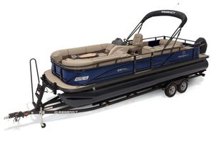 New Regency 250 DL3250 DL3 Pontoon Boat For Sale