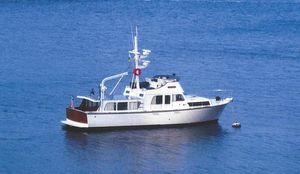 Used Monk 46 Pilothouse Boat For Sale