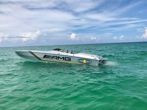 Used Cigarette 39 Top Gun AMG Edition High Performance Boat For Sale