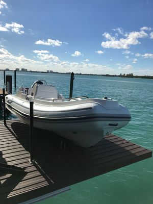 Used Ab Inflatables AB Rib Tender Boat For Sale