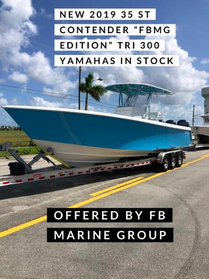 New Contender 35ST Sports Fishing Boat For Sale