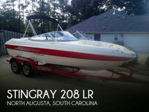Used Stingray 208 LR Bowrider Boat For Sale