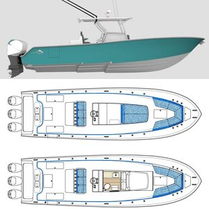 New Streamline 34 Center Console Fishing Boat For Sale