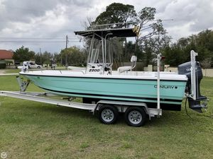 Used Century 2201 Bay Center Console Fishing Boat For Sale