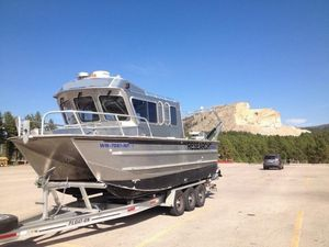Used Armstrong Marine 25' Catamaran Power Catamaran Boat For Sale