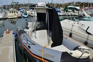 Used Zodiac Pro 650Pro 650 Rigid Sports Inflatable Boat For Sale