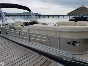 Used Landau 232 Island Breeze Pontoon Boat For Sale