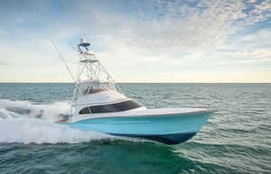 Used Winter Custom Yachts 60 Custom Carolina Convertible Fishing Boat For Sale