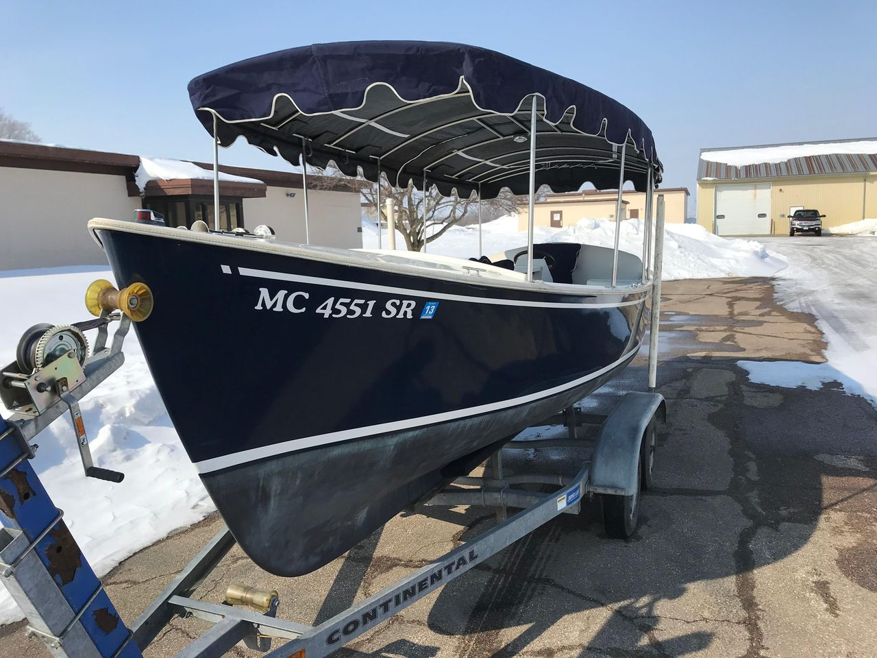 1999 Used Duffy Electric Launch Tender Boat For Sale