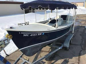 Used Duffy Electric Launch Tender Boat For Sale
