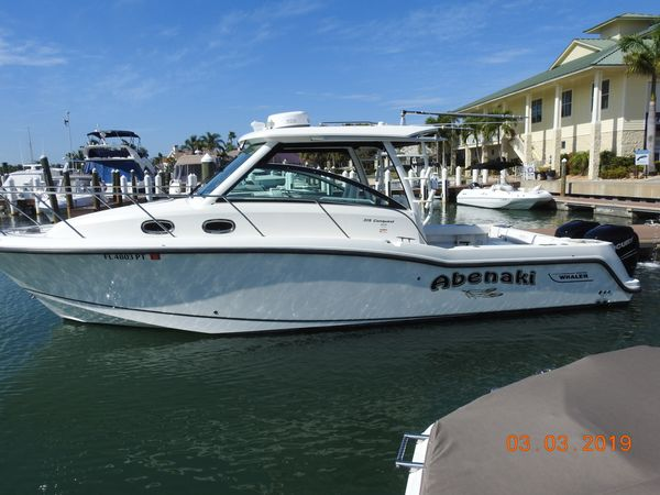 Used Boston Whaler 315 Conquest Tender Boat For Sale