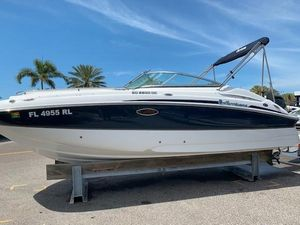Used Hurricane 2200 SD Sports Fishing Boat For Sale