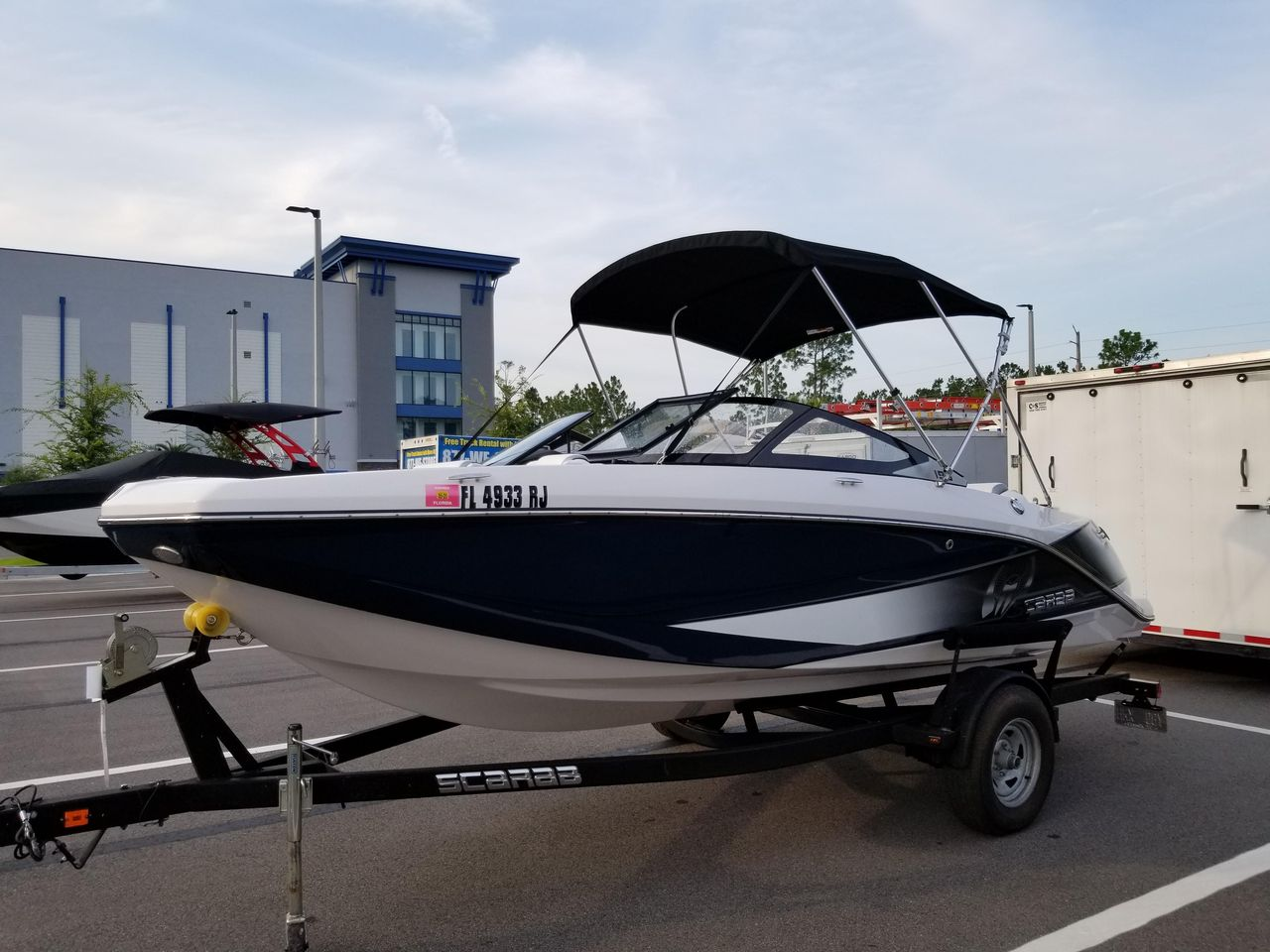 2017 Used Scarab 195 High Performance Boat For Sale