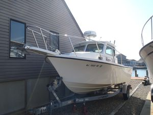 Used Parker 2120 Sport Cabin Pilothouse Boat For Sale