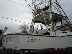 Used Carolina Classic 28FT Cuddy Cabin Boat For Sale