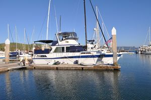 Used Uniflite 42 Double Cabin Aft Cabin Boat For Sale