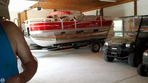 Used Tracker 18DLX Bass Buggy Pontoon Boat For Sale