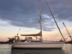 Used Canadian Sailcraft 36 Merlin Cruiser Sailboat For Sale