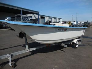 Used Livingston 14'14' Walkaround Fishing Boat For Sale
