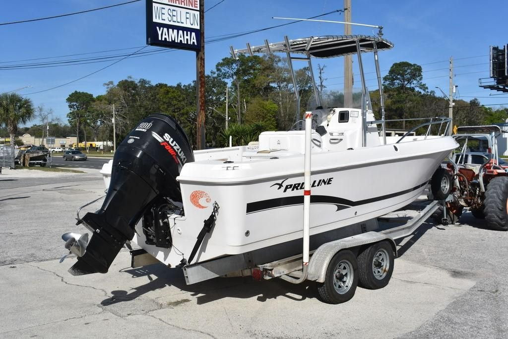 2006 Used Pro Line 23 Sport Center Console Fishing Boat For