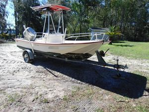 Used Mckee Craft Offshore Fisherman 17 Center Console Fishing Boat For Sale