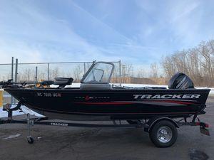 Used Tracker Pro Guide V-16 WTPro Guide V-16 WT Aluminum Fishing Boat For Sale