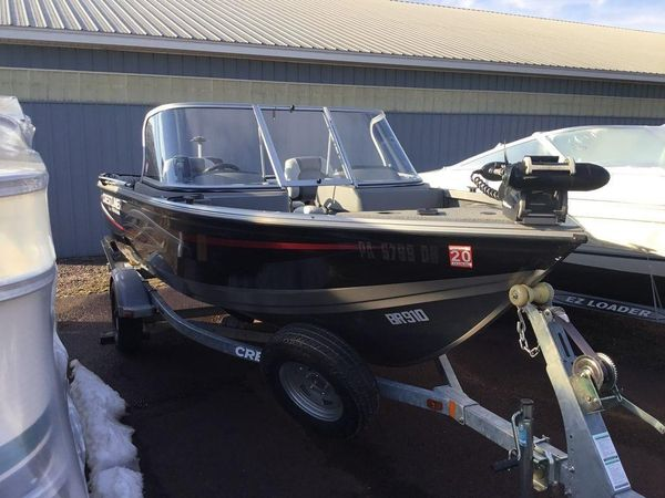 Used Crestliner Fish Hawk 1650Fish Hawk 1650 Freshwater Fishing Boat For Sale