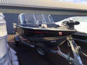 Used Crestliner Fish Hawk 1650Fish Hawk 1650 Freshwater Fishing Boat For Sale